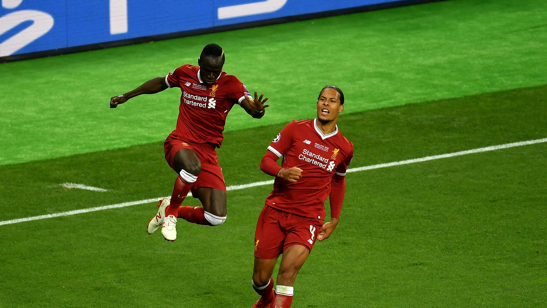 Van Dijk Mane goal Real Madrid Liverpool Champions League final 26052018