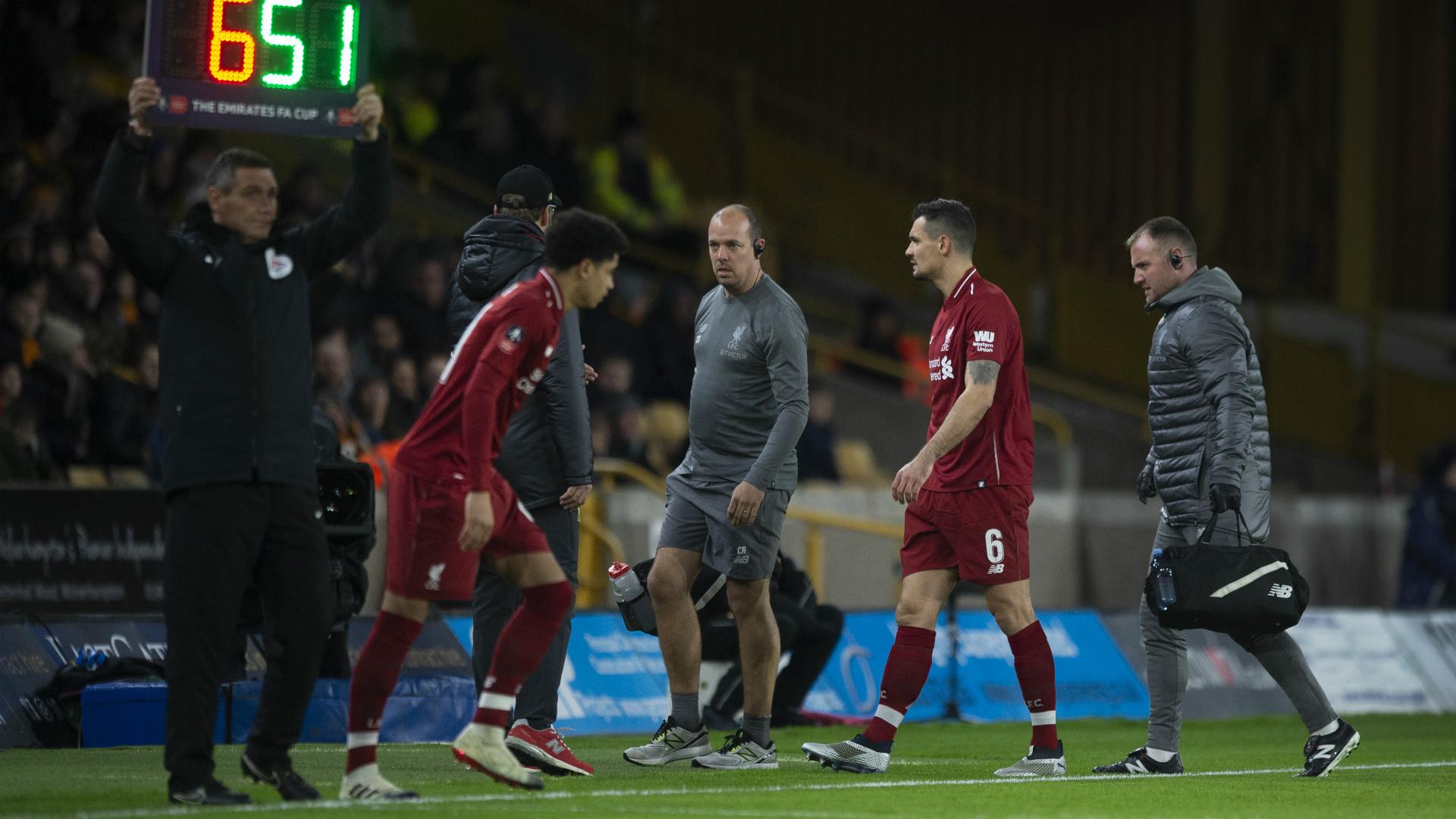 Dejan Lovren Liverpool 2018-19