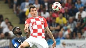 france croatia - samuel umtiti mario mandzukic -world cup final - 15072018