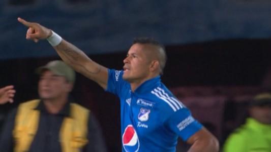 Ayron del Valle Millonarios gol