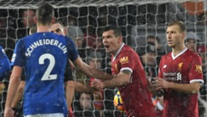 Dejan Lovren Liverpool Everton Premier League