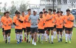 Hong Kong Team prepare for the Guangdong-HongKong cup.