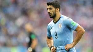 Luis Suarez Uruguay France World Cup 06072018