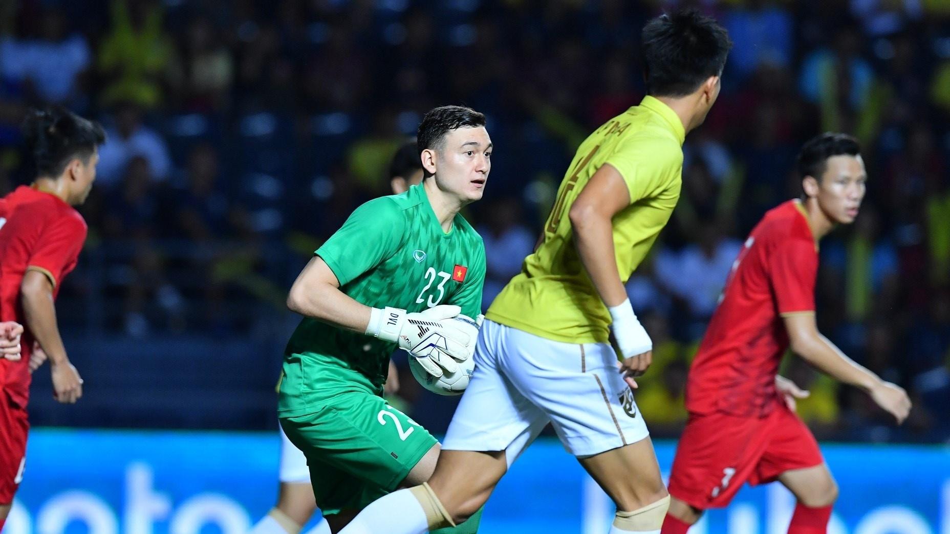 Dang Van Lam Vietnam vs Thailand King's Cup 2019