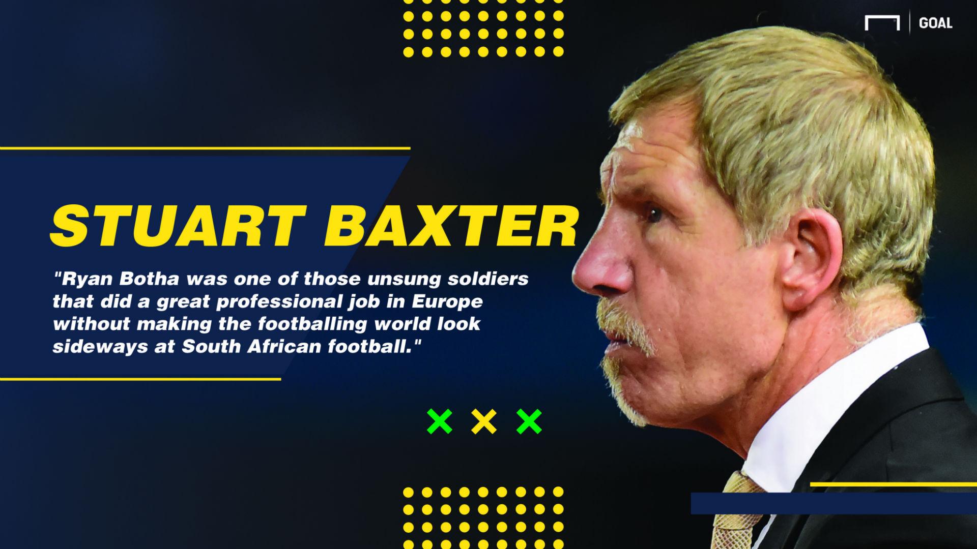 Stuart Baxter on Ryan Botha