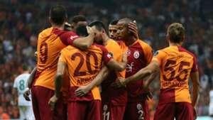 Galatasaray goal celebration vs Alanyaspor 08272018