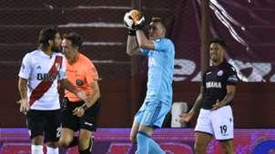 Franco Armani Leonardo Ponzio German Denis Lanus River Plate Superliga Argentina 11022018