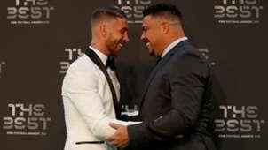 Ronaldo Sergio Ramos FIFA THE BEST AWARD 2018