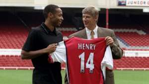Thierry Henry Arsene Wenger Arsenal