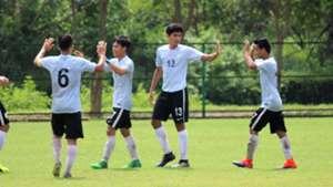 India U17 celebrating