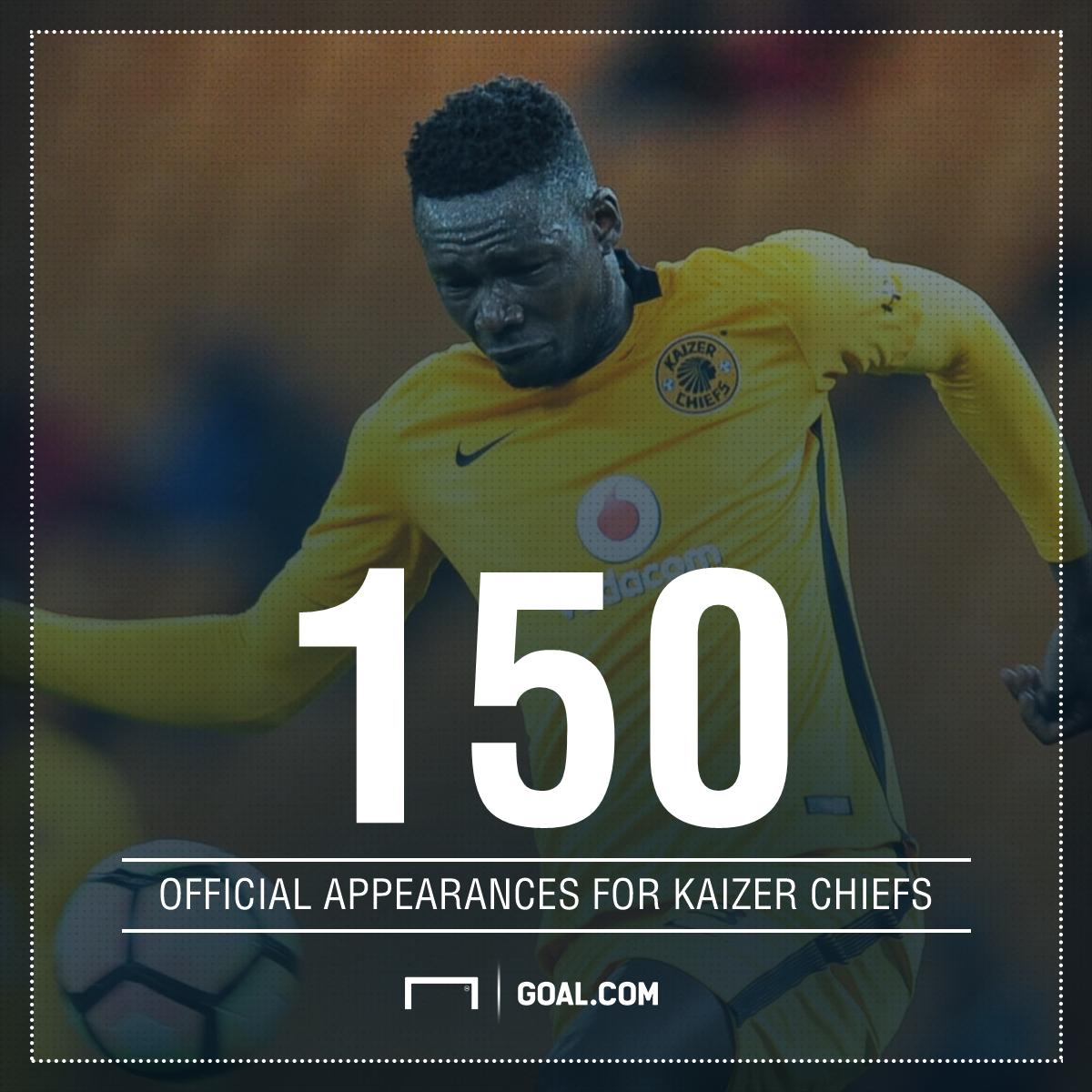 Mathoho makes 150th Chiefs appearance