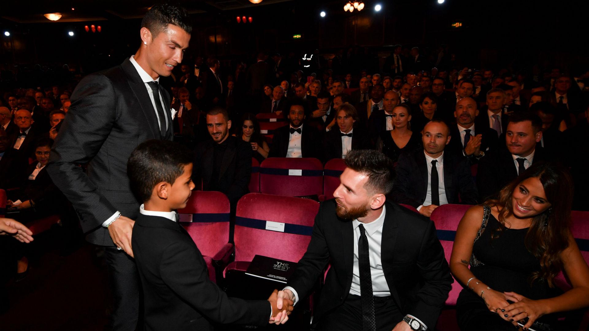 Cristiano Ronaldo Cristiano Jr Lionel Messi