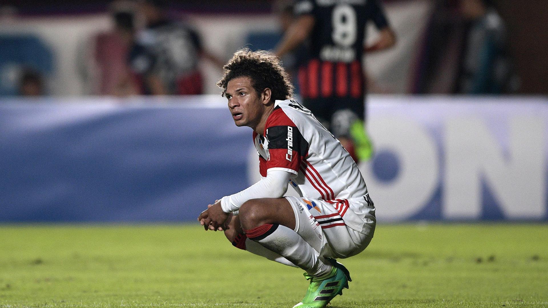 Willian Arao San Lorenzo Flamengo Libertadores 17052017