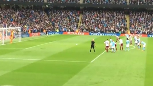 captura video gol aguero city burnley