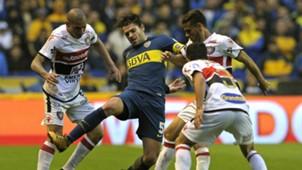 Gago Boca Chacarita Fecha 5 Superliga 01102017