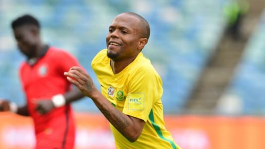Thulani Serero of Bafana Bafana vs Guinea-Bissau