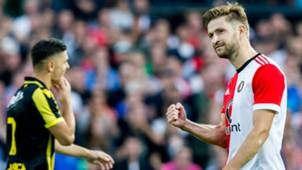 Jan-Arie van der Heijden, Feyenoord vs. Vitesse, 08052017