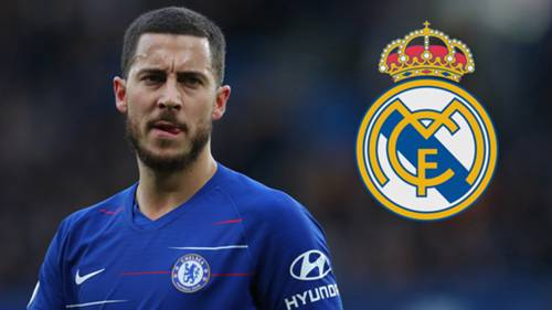 Eden Hazard Real Madrid