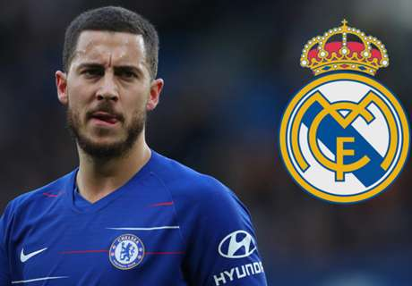 Hazard 'not working' on Madrid move but open to Chelsea exit