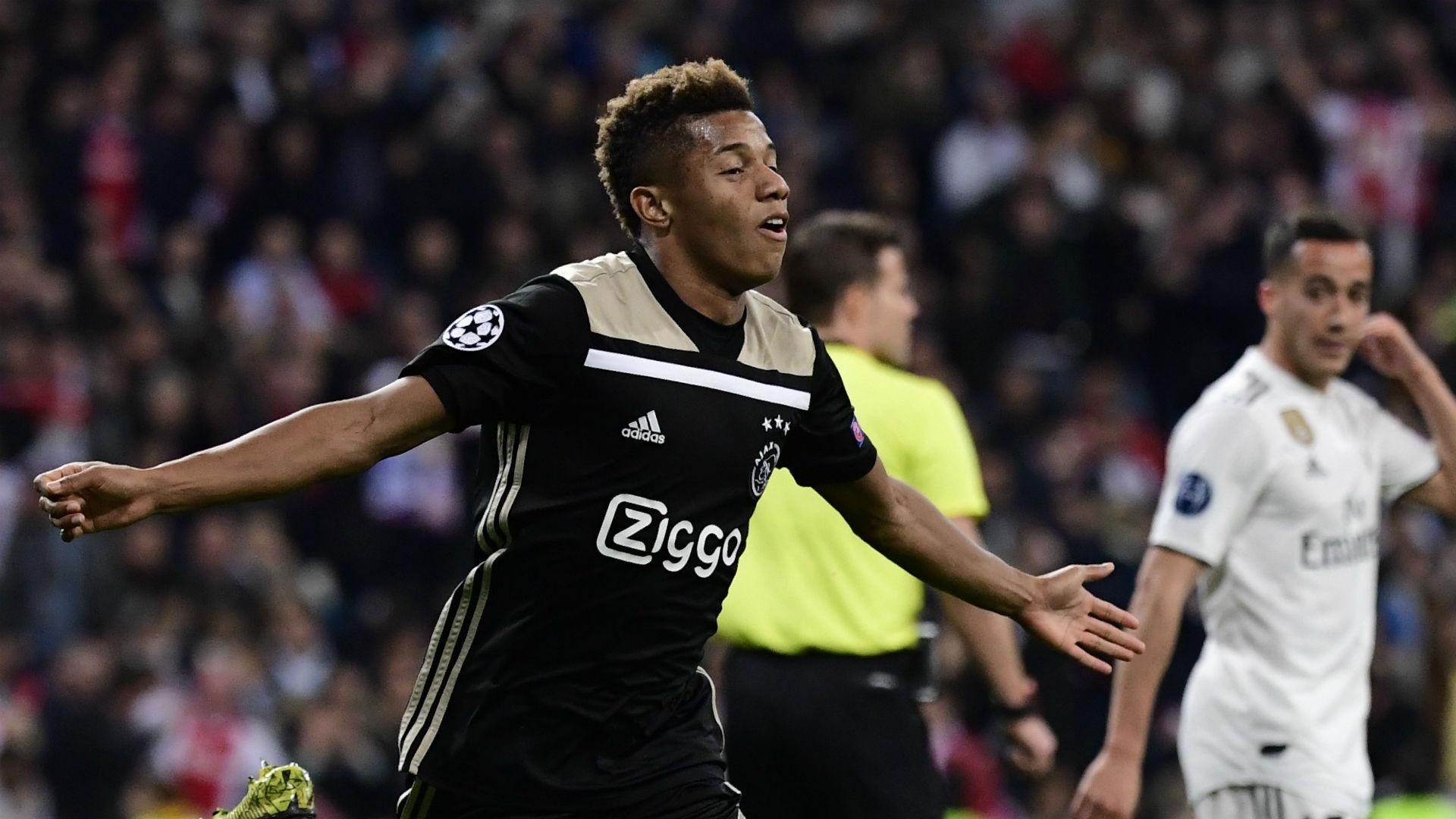 David Neres Ajax Real Madrid Champions League 08 03 2019