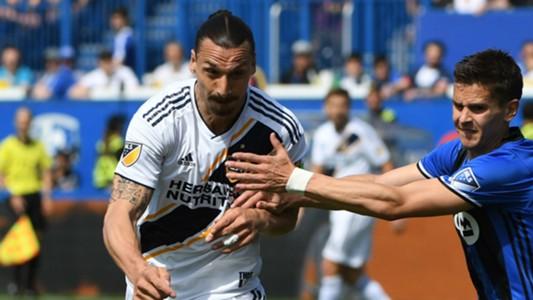 Zlatan Ibrahimovic LA Galaxy Montreal Impact MLS