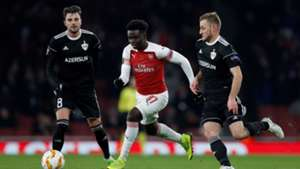 Saka Arsenal Qarabag Europa League
