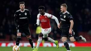 Saka Arsenal Qarabag Europa League