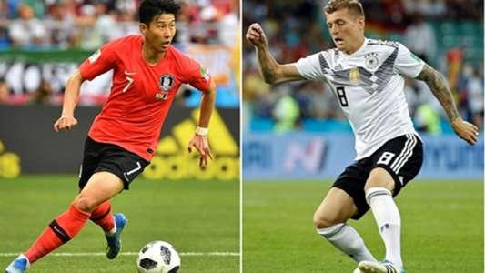 Korea Republic vs Germany