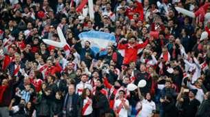 River fans Libertadores Madrid