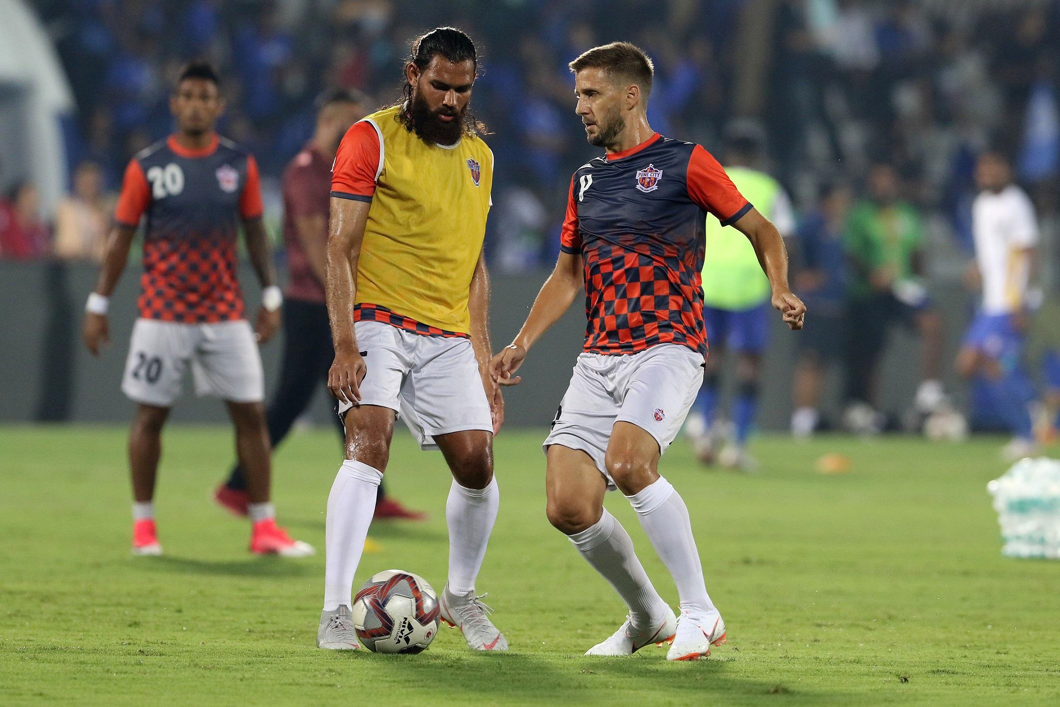Pune City Bengaluru FC ISL
