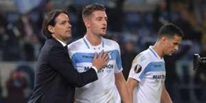 Simone Inzaghi Lazio Olympique Marseille Europa League