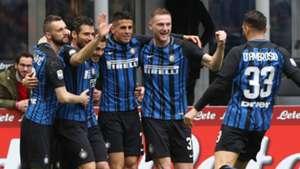 Celebrating Inter Verona Serie A