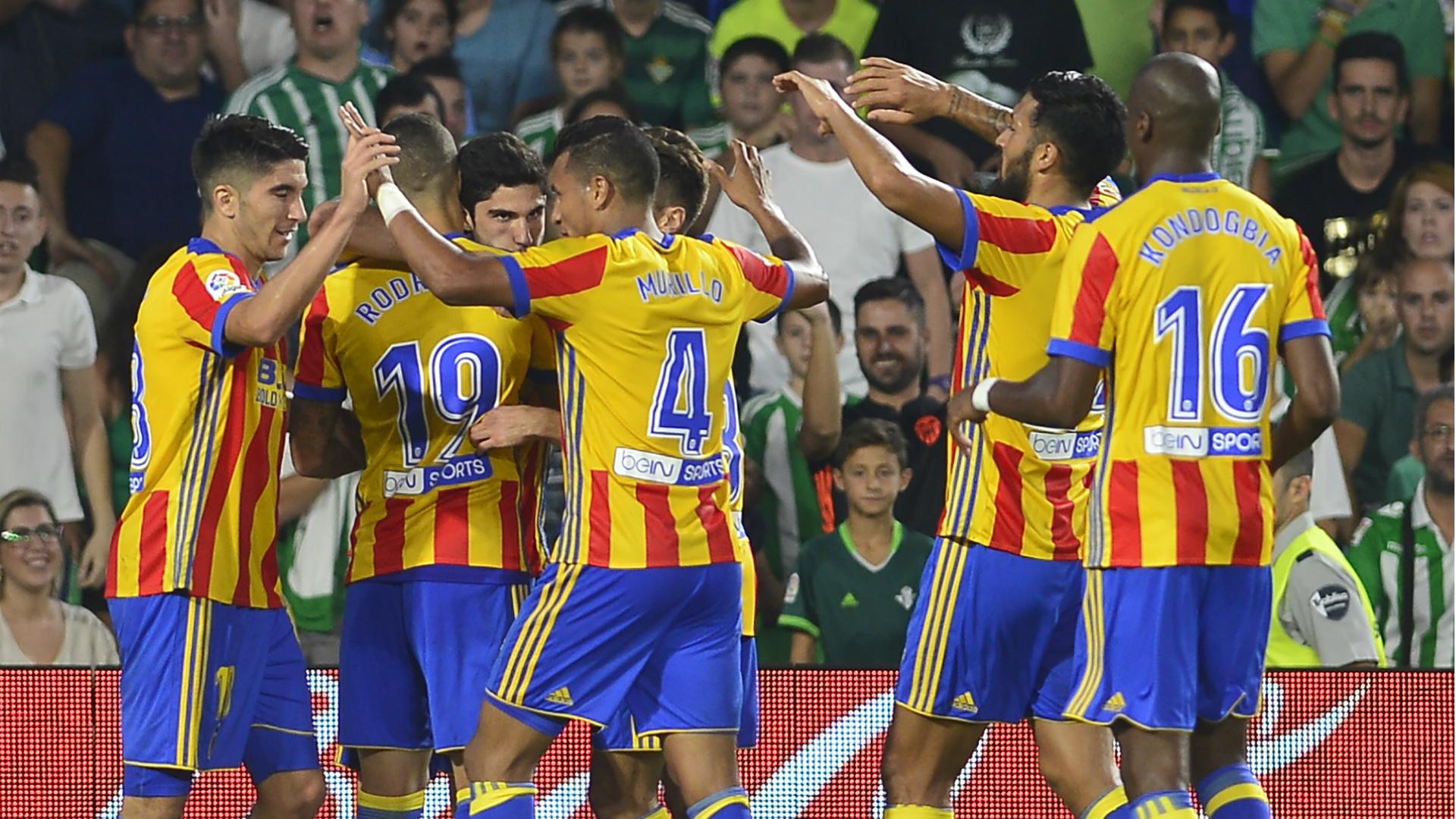 Betis - Valencia, La Liga 10152017