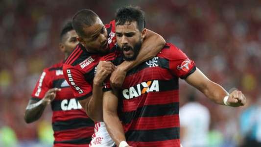 Henrique Dourado Flamengo America-MG 21042018 Brasileirao Serie A
