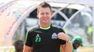 Gor Mahia coach Dylan Kerr