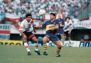 Diego Maradona last match Boca Juniors River Plate 25101997