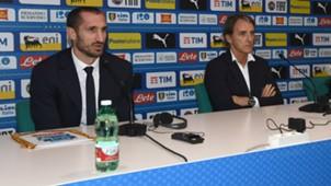 Giorgio Chiellini press conference Italy Portugal