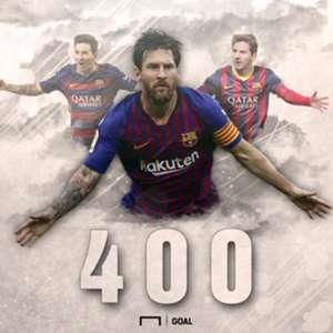 Messi 400