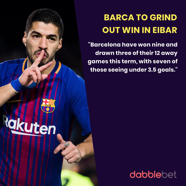 Barca Eibar La Liga graphic