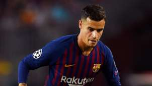 Philippe Coutinho Barcelona Champions League 2018-19