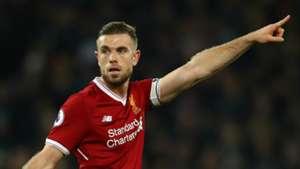 Jordan Henderson Liverpool Premier League Team of the Week