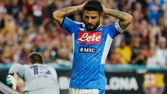 Juve-Napoli, Insigne in lacrime all'intervallo: ha rivelato di stare male