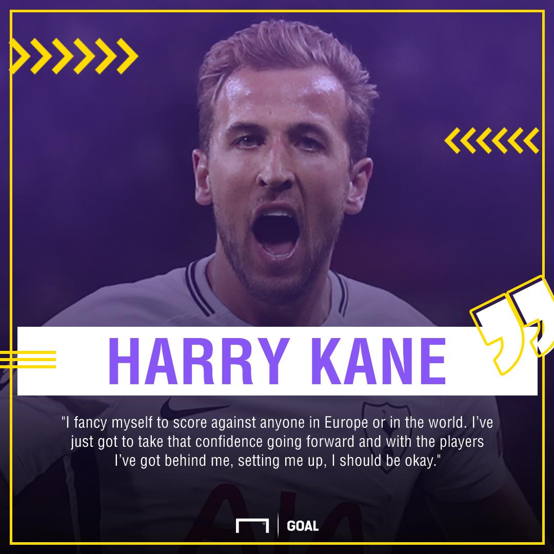 GFX Info Harry Kane Tottenham BVB quote