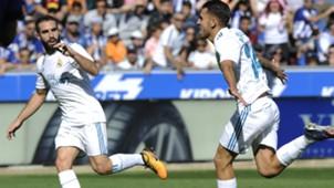 Carvajal Dani Ceballos Alaves Real Madrid LaLiga