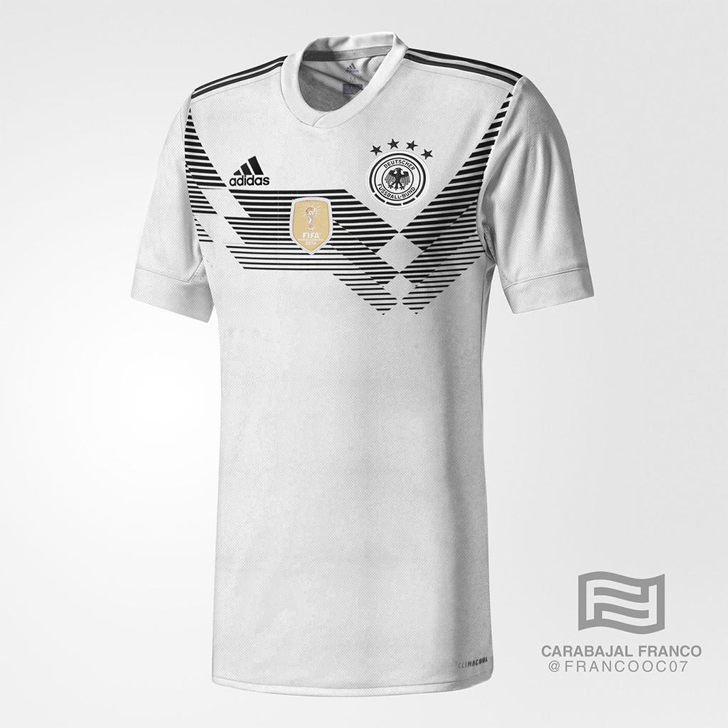 Neue adidas DFB Trikots made in Germany