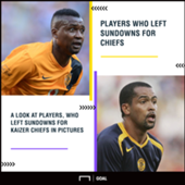 Players, who left Sundowns for Chiefs