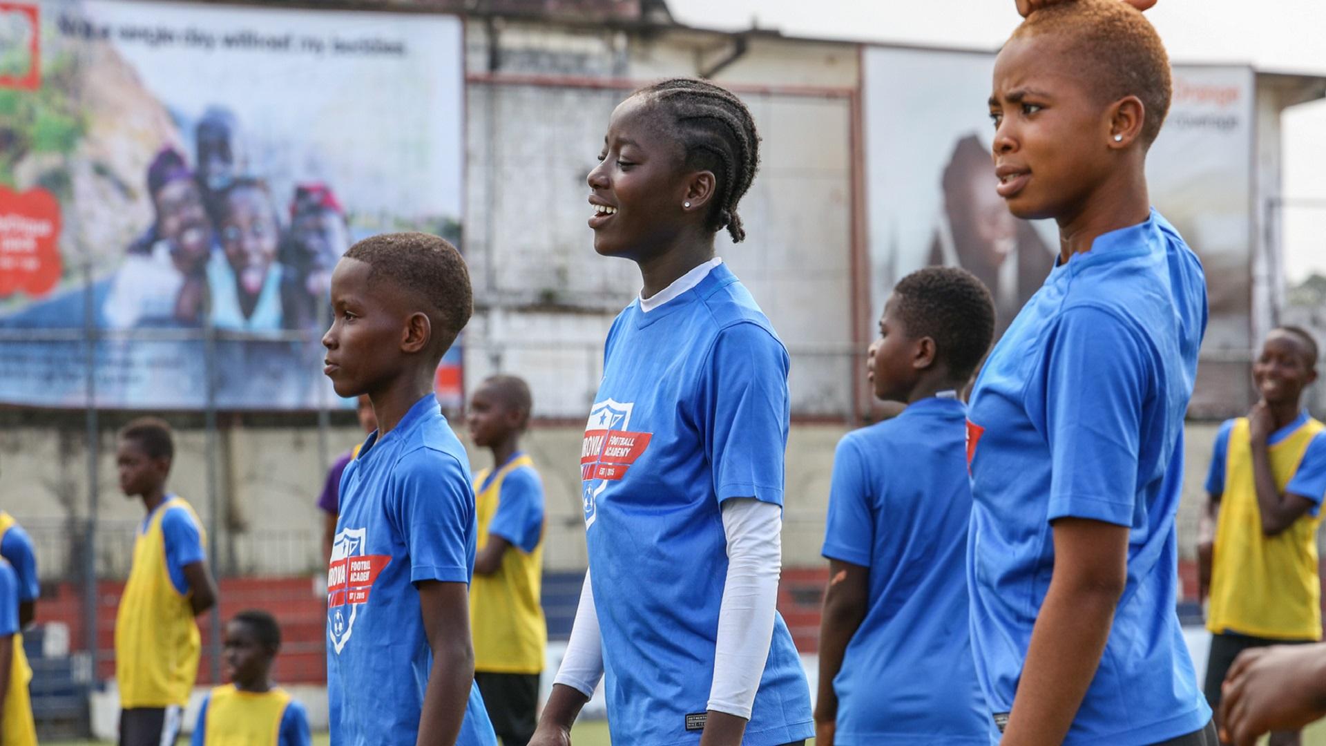 Reggie Blessing Jess ATS, August 2017, Monrovia FA