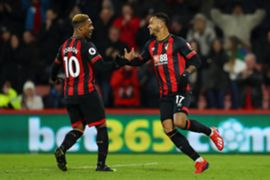 Jordon Ibe Joshua King Bournemouth Chelsea Premier League 01/30/19