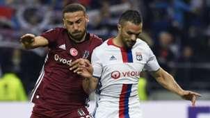 Cenk Tosun Jeremy Morel Olympique Lyon Besiktas UEL
