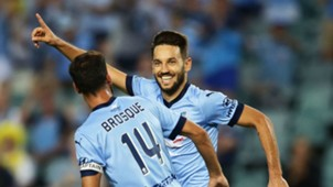 Milos Ninkovic Sydney FC v Wellington Phoenix A-League 09022017